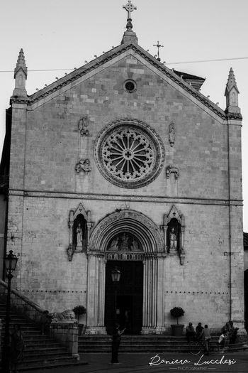 Basilica Di San Benedetto Built Structure Façade Italia Norcia Place Of Worship Prima Del Terremoto Religion Spirituality Umbria