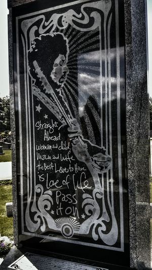 Visiting Jimmy Hendrix memorialplace today💕 The Portraitist - 2016 EyeEm Awards Jimmy Hendrix Singer  Idol Rest In Peace EyeEm Best Shots The Great Outdoors With Adobe Check This Out From My Point Of View