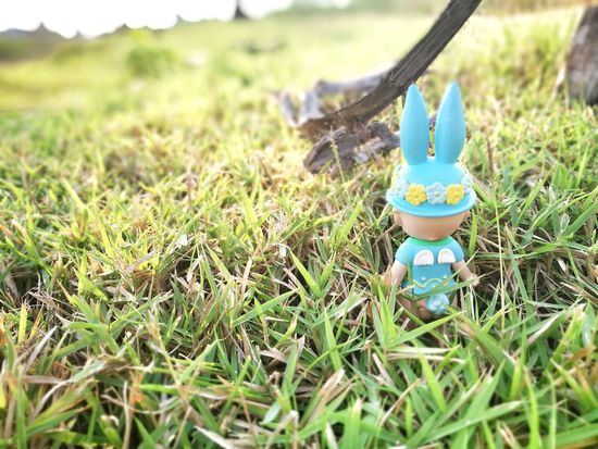 Grass Green Color Outdoors Nature Toy Doll Kewpie Collection Cute Figure Dolls Minifigures Sonnyangelthailand Toy Photography Sonnyangel Thailand