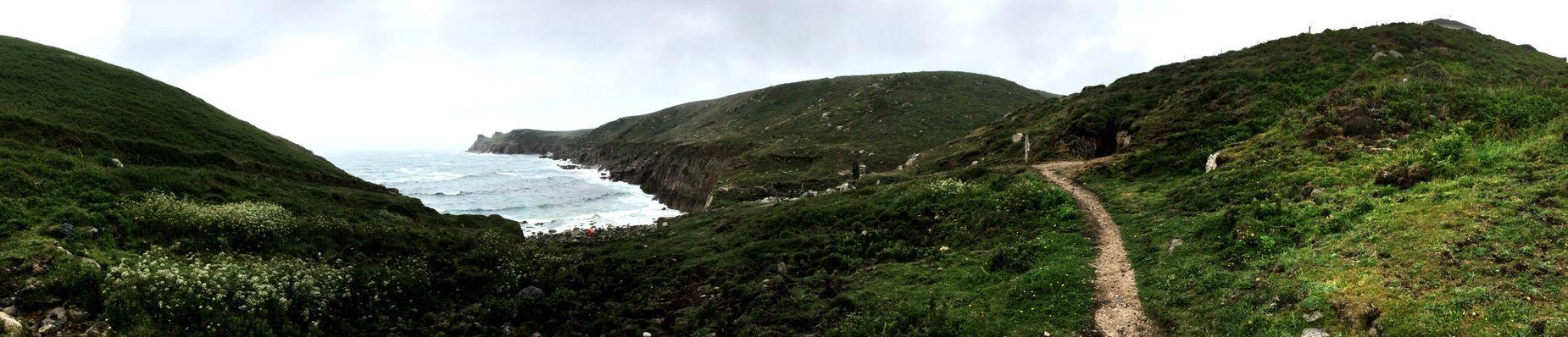 Cornwall Walks Foggy Cliffs Peace Tranquility