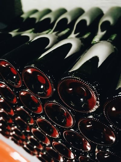 Indoors  No People Close-up Day La Rioja Warehouse Abundance Repetition Large Group Of Objects Wine Rack Food And Drink Bottle Cellar Winery Wine Cellar Alcohol Wine Bottle Wine Winemaking