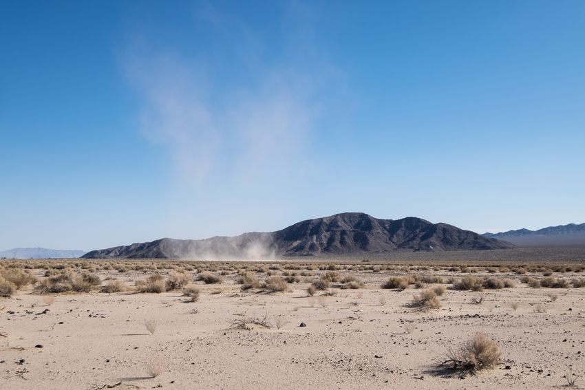 Don't let the dust devils cloud your vision, move right past them. MajoveDesert Mountains Dust Devil Landscape Market Bestsellers May 2016 Bestsellers