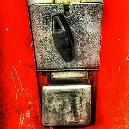 ...der Dreh für's Glück @kaugumminews Kaugummiautomat Gumballmachine ...schaust'e auf: www.kaugummiautom.at ;-)