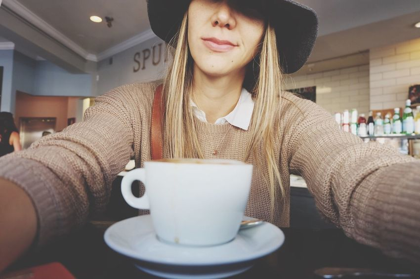 Coffee is everything. Coffee Cup Coffee - Drink Drink Food And Drink Coffee Lifestyles Casual Clothing San Francisco Capuccino Latte Ootd Fashion People And Places