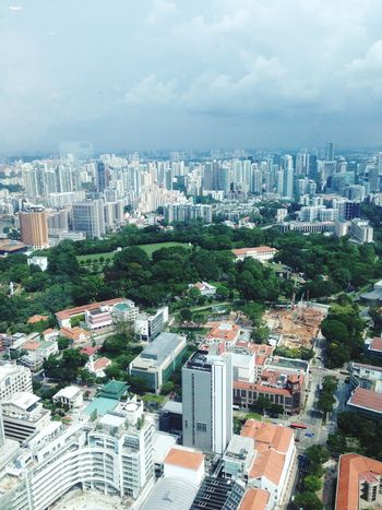 Singapore Cityscape Singapore Singapore View City Cityscape Topdown Sky Cloud Clouds And Sky