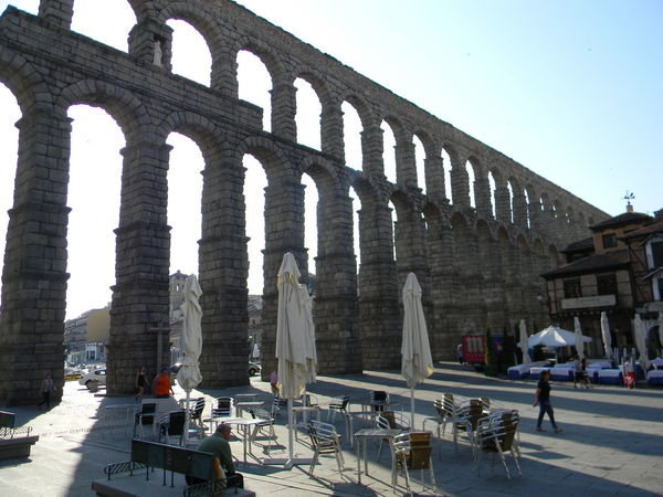 Architecture Europe Trip Sky SPAIN Vacations Acueducto-Segovia Travel Photography Travel