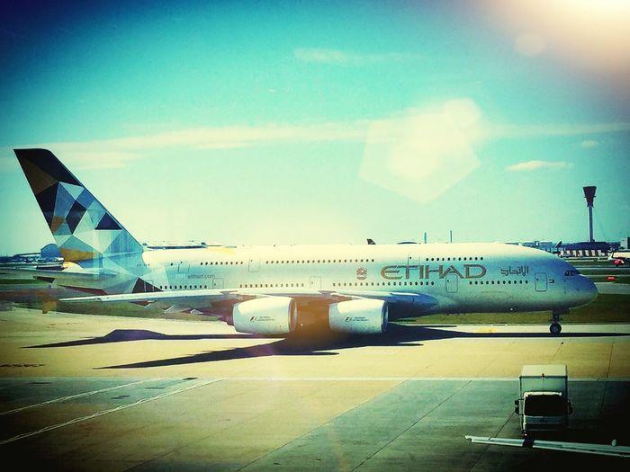 Terminal4 Airbus A380