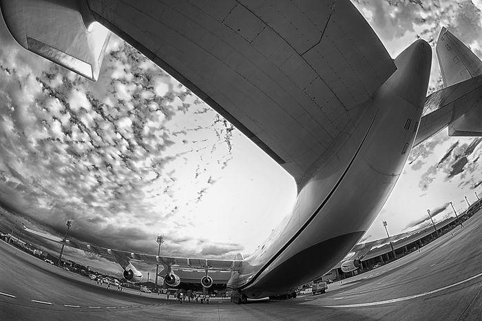 ANTONOV-AN225 AirPlane ✈ Antonov Antonov 225 Mriya Airplane Frame It! Wing Air Vehicle Airplane Airplane Wing Airplanes Airplaneview Airport Biggest Cloud - Sky Frame Outdoors Scenics Sky Rethink Things EyeEmNewHere