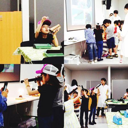 今日は科学館で光の実験教室に参加。最近はこういう体験型がいっぱいあって、子ども達にとっては良い事ですね。^^ Science Science Museum  Science Class Science Lab Children Playing Child Playing