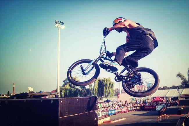 BMX pro Daniel Wedemeijer at Pannonian Challenge Skatepark BMX Contest RedBull Pannonian Challenge