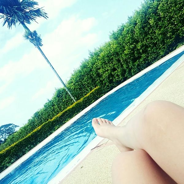 Photography Día Soleado Piscina Me Sun Pool Time Swimming Sunny Day Colombia Happiness Bluesky Relax Descanso