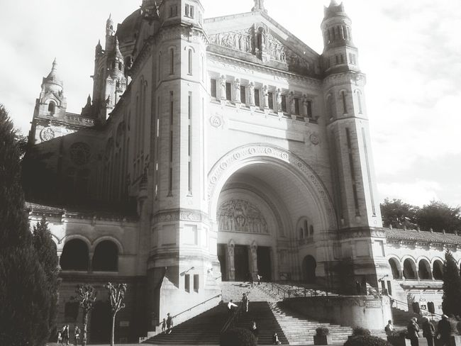 Architecture Black & White Church Lisieux