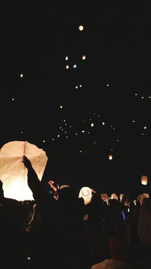 Night Celebration Thelights Nightlife Enjoyment
