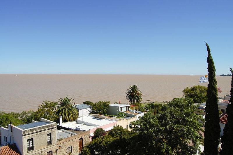 Colonia Del Sacramento Plata Plate River Rio Plata River Uruguay