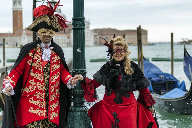 Carnival in Venice 2017 Carnival Disguise Fun Tradition Arts Culture And Entertainment Carnival Carnival - Celebration Event Celebration Costume Costumes Disguise Focus On Foreground Leisure Activity Lifestyles Mask Mask - Disguise Outdoors Performance Period Costume Real People Red Stage Costume Tradition Venetian Mask Venice