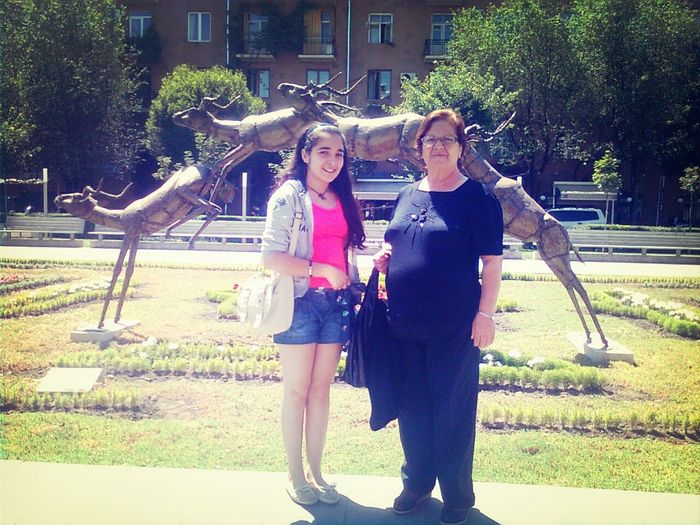 Summer That's Me with ❤ My GrandMother ❤ Love Her :)