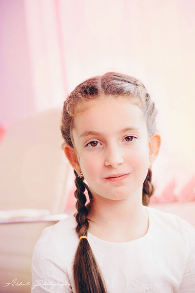 Beauty Child Childhood Children Only Close-up Community Outreach Day Hair Headshot Indoors  Looking At Camera Millennial Pink One Girl Only One Person People Portrait Real People Smiling