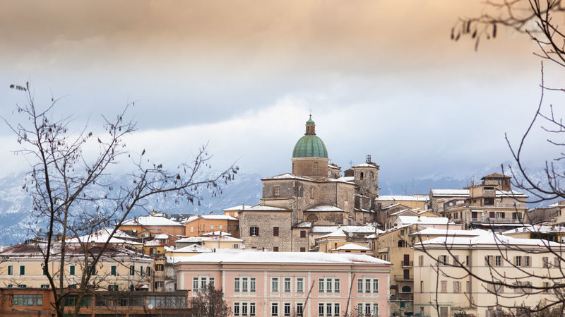 Architecture Atina Building Exterior Built Structure Business Finance And Industry City Cityscape Cloud - Sky Day Dome Frosinone Government No People Outdoors Politics And Government Sky Statue Travel Destinations Tree
