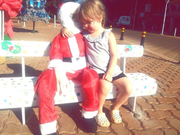 Papanoel Beautiful Girl Check This Out Santaclaus Santa