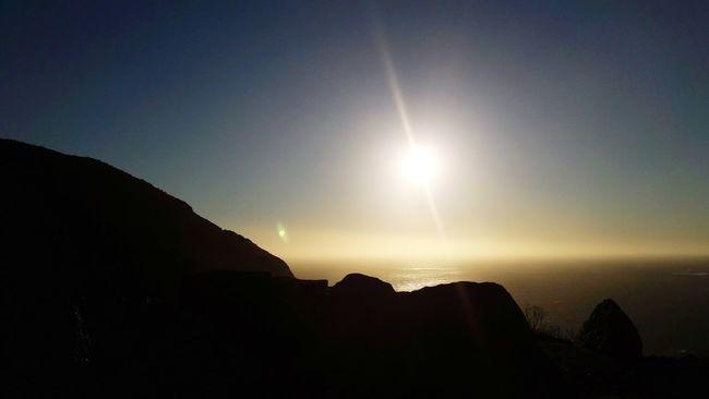 Sun Silhouette Sunset Scenics Sky Beauty No People Travel Destinations Chapmanspeak  Nature Mountain