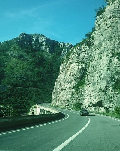Going through the mountains of Montenegro...? The Places I've Been Today Taking Photos Relaxing Carphotography Mobilephotography Montenegro EyeEmSerbia Alexandracubrak