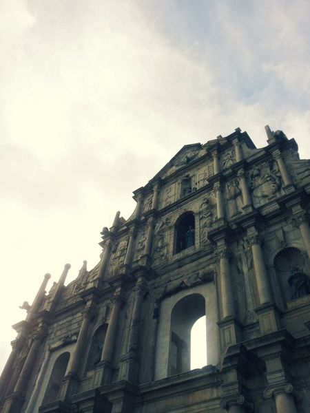 Ruins Of St.Paul's Macau Time Travel