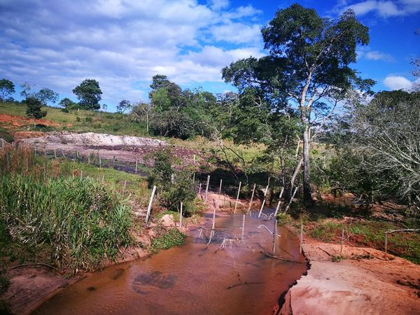 Ara Pyahu San Pedro Paraguay Water Tree Cloud - Sky Nature Outdoors Day Sky No People Beauty In Nature Freshness Blue Sky And Clouds Paradise ❤ Peaceful Place Paradise On Earth Tranquility