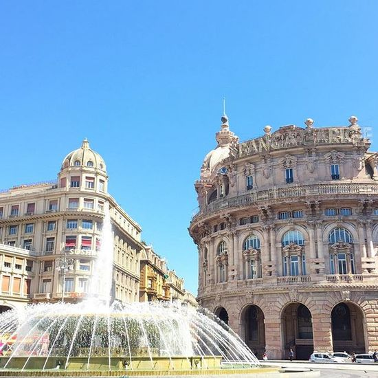 Beautiful and sunny Genova ☀️☀️ Genova Visitliguria Sunnyday Italiansummer