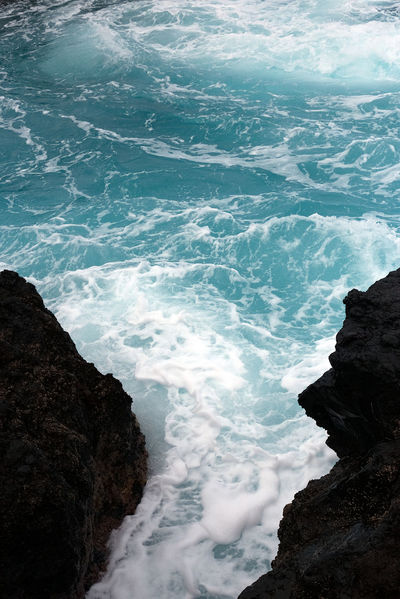 Canary Islands EyeEm Nature Lover Beach Beauty In Nature Blue Canon Day Foam Motion Nature No People Outdoors Power In Nature Rock - Object Scenics Sea Water Wave