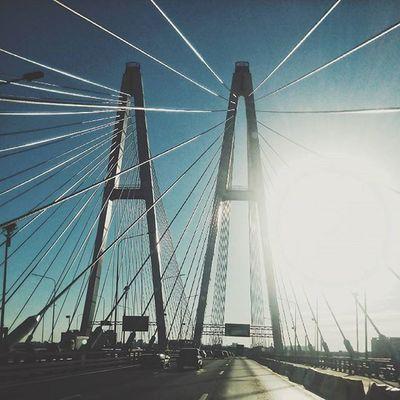 Вантовые мосты охуенны. Полёт инженерной мысли. Большой Обуховский мост Bridge Spb Petersburginyourhand явижупитертак Питер Спб Showmerussia Nowrussia начнипутешествовать