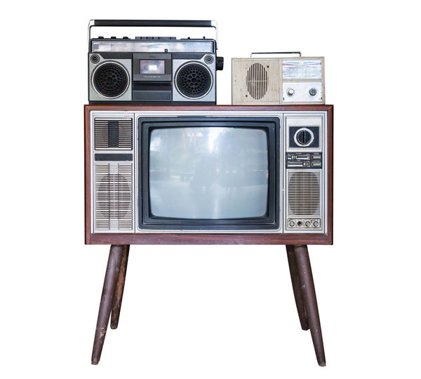 Old TV and
