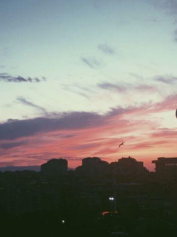 EyeEm Best Shots Sunset Sky City Dusk Cloud - Sky Silhouette City Life Cloud Outdoors Tranquility