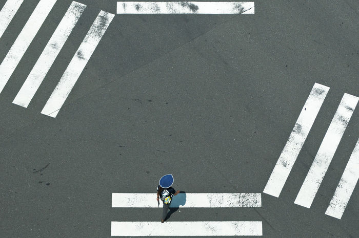 zebra crossing in Tokyo ©alexander h. schulz Asphalt City Crossing Crosswalk Day Diagonal From Above  Geometry Grey High Angle View Horizontal Japan Lines Outdoors Pedestrian Road Road Marking Street Streetphotography Tokyo Traffic Transportation White White Line Zebra Crossing The Graphic City The Street Photographer - 2018 EyeEm Awards