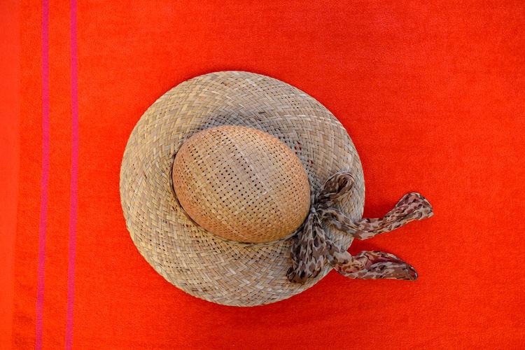 straw woman hat