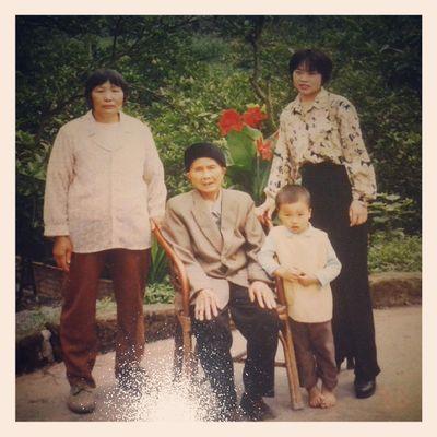 我小时候、我妈妈、我奶奶、我祖母
