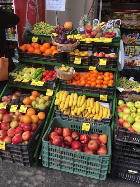 Abundance Cardboard Box Choice Day Food Food And Drink Freshness Fruit Healthy Eating Large Group Of Objects Market Market Stall No People Outdoors Price Tag Variation Vegetable