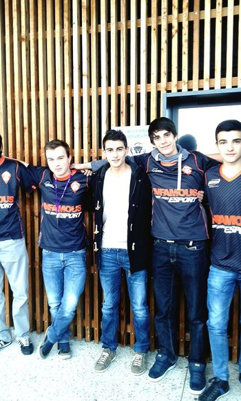 """""""The sky's the limit, and we won't stop we're sitting on the could."""" Lyon E-sport Infamous"""