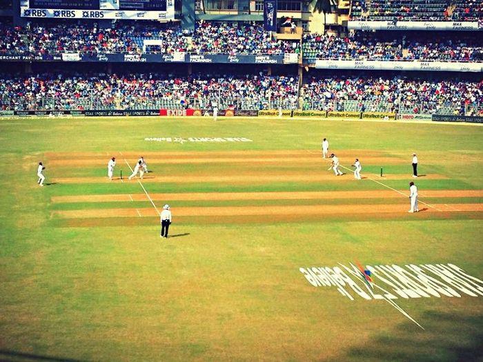 Sachin Tendulkar 's final ball in Test Cricket Memories India Mumbai History Epic Cricket