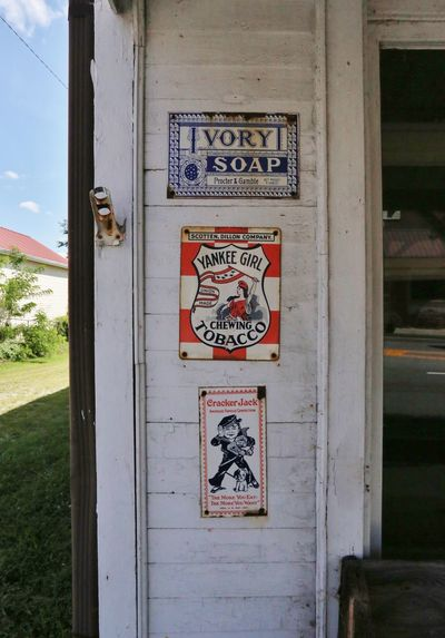 Ivory Soap Summer Views Tobacco Vintage Signs Cracker Jack  Day Soap Vintage Advertising Yesteryear