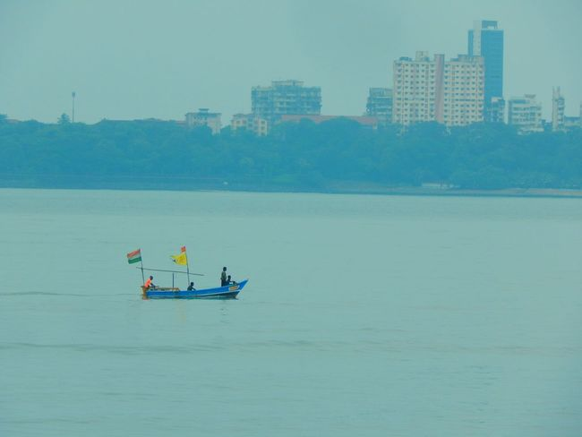 Battle Of The Cities Color Of Technology Monsoonmagic Transportation Nautical Vessel Mode Of Transport Water Boat Waterfront Scenics River Nature Sky Sailing Tranquility Boating Day Outdoors Vacations Sea Beauty In Nature Riverbank Tranquil Scene