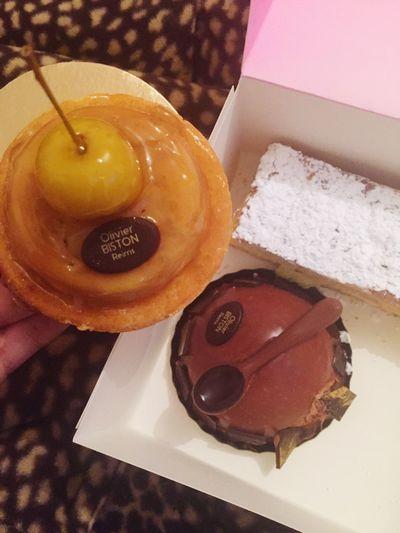 Tarte Tatin Mille Feuilles Surprise Chocolats humm