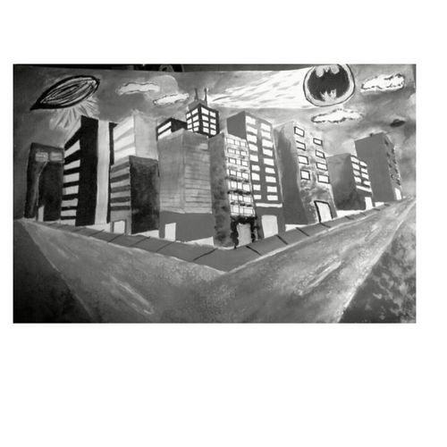 """Gotham City"" Drawing First Eyeem Photo"