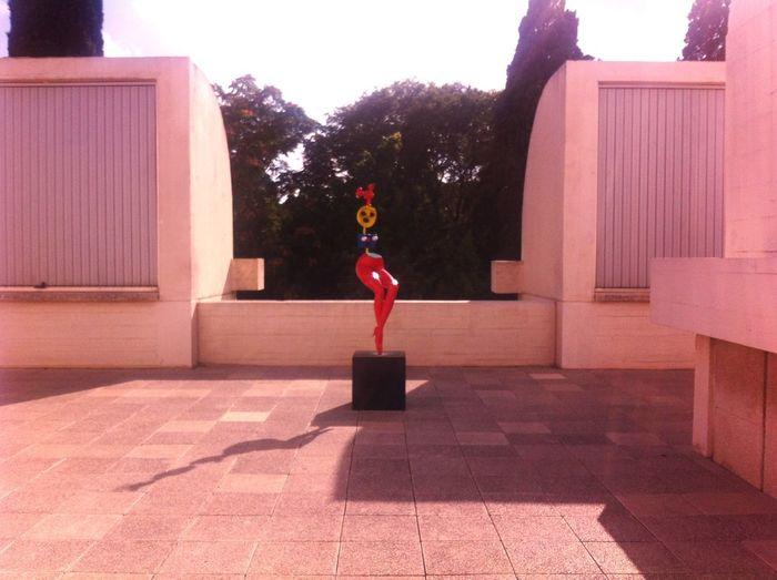 Art Sculpture Beauty Miró  Barcelona Outdoors
