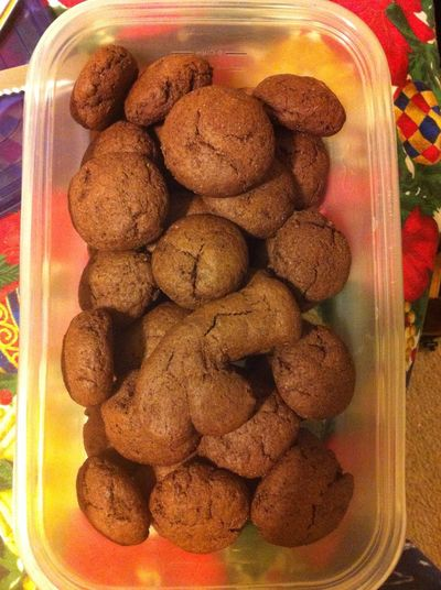 Food Porn Homemade Fat Free Chewy Chocolate Cookies