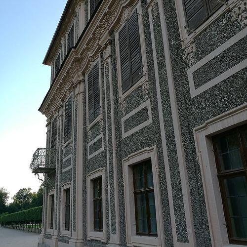 Beautiful light at Schloss Favorite