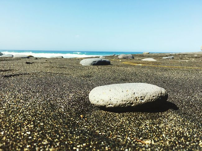 Beach Sand Sea Shore Pebble Water Nature Horizon Over Water Day Tranquil Scene Rock - Object Tranquility Seashell Beauty In Nature No People Outdoors Pebble Beach Scenics Sky Clear Sky Nature Photo Photography