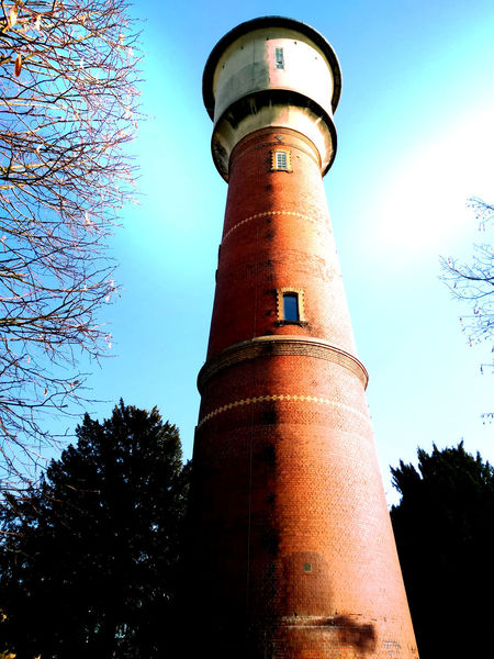 Architecture Built Structure Day Hightower Low Angle View Neckar No People Outdoors Sky Sunnyday Tower Tree Watertower