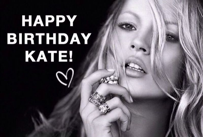 Happy Birthday Kate! Katemoss