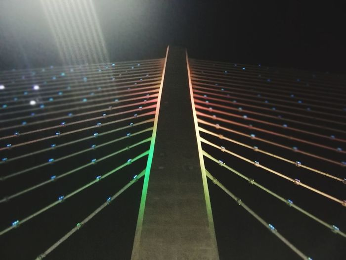 Ligths #bridge Ligths In The City Stadium City Illuminated Sport Soccer Field Sky Close-up Sports Track Track Event HUAWEI Photo Award: After Dark