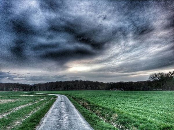 Road to nowhere.... Hdroftheday Hdr_landscape HDR Hdr_pics Hdr_captures Landscape_captures Landscape Cloudyday Clouds Nature_perfection Nature Epic Epicsunset Sunset Mobilephotography XPERIA Horizon Road Way Inspiration Instalike Intadaily